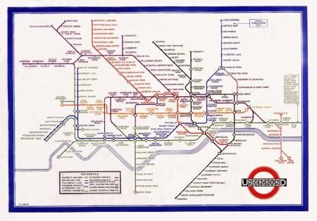 Harry Beck's original map