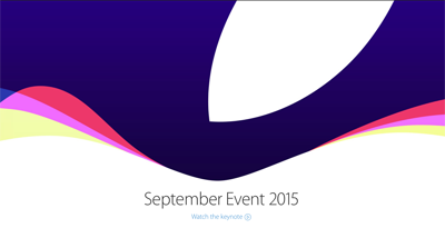 apple september 15 event